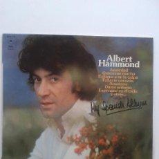 Discos de vinilo: ALBERT HAMMOND. Lote 32845974