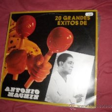 Discos de vinilo: ANTONIO MACHIN LP 20 GRANDES EXITOS VERSIONES ORIGINALES EMI VER FOTO ADICIONAL. Lote 32848217