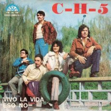 Discos de vinilo: C-H-5 - VIVO LA VIDA / ESO NO (45 RPM) BERTA 1972 - PROMO! - EX/EX. Lote 32861268