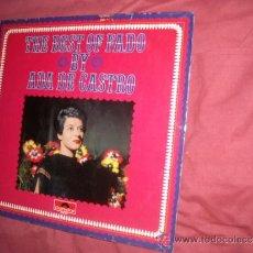 Discos de vinilo: ADA DE CASTRO THE BEST OF FADO LP POLYDOR GERMANY VER FOTO ADICIONAL. Lote 32866535