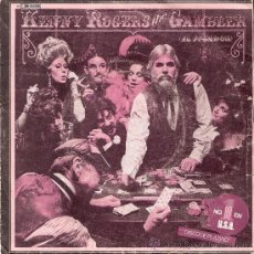 Discos de vinilo: KENNY ROGERS - THE GAMBLER / SAN FRANCISCO MABEL JOY - UNITED ARTISTS 10C 006-082648 (1979). Lote 32878384