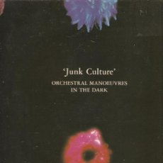 Discos de vinilo: LP OMD ORCHESTRAL MANOEUVRES IN THE DARK - JUNK CULTURE . Lote 32884606