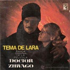 Discos de vinilo: MAURICE JARRE - BSO DOCTOR ZHIVAGO TEMA DE LARA / MGM RECORDS 63.537 (AÑO 1966). Lote 32889027