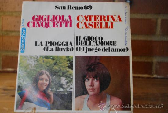 SAN REMO 69 (Música - Discos de Vinilo - Maxi Singles - Otros Festivales de la Canción)