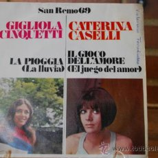 Discos de vinilo: SAN REMO 69. Lote 32893573