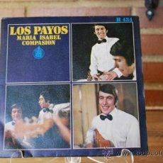 Discos de vinilo: LOS PAYOS. Lote 32893730