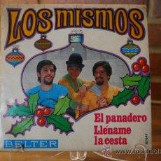 Discos de vinilo: LOS MISMOS. Lote 32893907