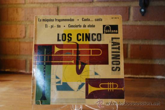 LOS CINCO LATINOS (Música - Discos - Singles Vinilo - Grupos y Solistas de latinoamérica)