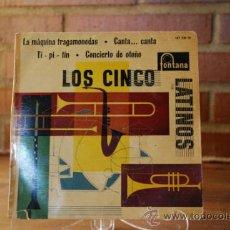 Discos de vinilo: LOS CINCO LATINOS. Lote 32962157
