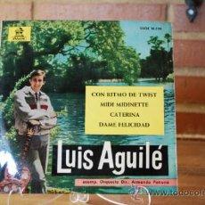 Discos de vinilo: LUIS AGUILE. Lote 32962988