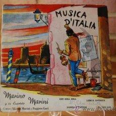 Discos de vinilo: MARIANO MARINI. Lote 32963174