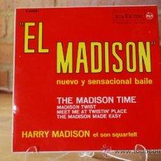 Discos de vinilo: EL MADISON. Lote 32963445