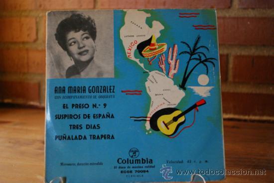 ANA MARIA GONZALEZ (Música - Discos - Singles Vinilo - Grupos y Solistas de latinoamérica)