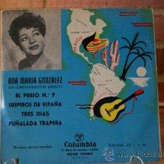 Discos de vinilo: ANA MARIA GONZALEZ. Lote 32963622