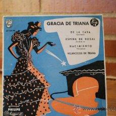 Discos de vinilo: GRACIA DE TRIANA. Lote 32990553