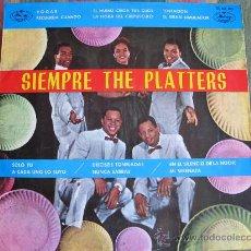 Discos de vinilo: LP - THE PLATTERS - SIEMPRE THE PLATTERS - ORIGINAL ESPAÑOL, MERCURY RECORDS 1962. Lote 34080626