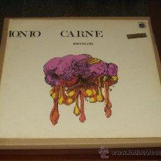 Discos de vinilo: BRINCOS LP MUNDO, DEMONIO, CARNE PROGRESIVO ORIGINAL MUY RARO. Lote 32904040