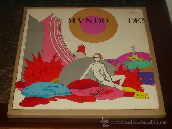 Discos de vinilo: BRINCOS LP MUNDO, DEMONIO, CARNE PROGRESIVO ORIGINAL MUY RARO - Foto 2 - 32904040