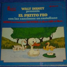 Discos de vinilo: SIMBAD EL MARINO - HISPAVOX - WALT DISNEY - 1972 - CUENTO PARA LEER Y ESCUCHAR. Lote 32904599