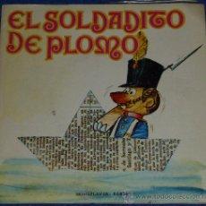 Discos de vinilo: EL SOLDADITO DE PLOMO - MOVIEPLAY - 1972 - CUENTO PARA LEER Y ESCUCHAR. Lote 32905172