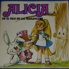 Discos de vinilo: ALICIA EN EL PAIS DE LAS MARAVILLAS - MOVIEPLAY - 1972 - CUENTO PARA LEER Y ESCUCHAR. Lote 32905177