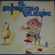 Discos de vinilo: EL SASTRECILLO VALIENTE - MOVIEPLAY - 1972 - CUENTO PARA LEER Y ESCUCHAR. Lote 32905199