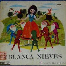 Discos de vinilo: BLANCANIEVES - PHILIPS - 1966 - CUENTO PARA LEER Y ESCUCHAR. Lote 32905279