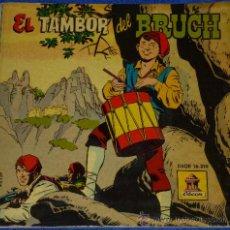 Discos de vinilo: EL TAMBOR DEL BRUCH - ODEON - 1959 - CUENTO PARA LEER Y ESCUCHAR. Lote 32905322