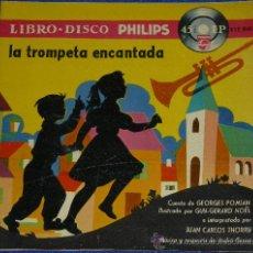 Discos de vinilo: LA TROMPETA ENCANTADA - PHILIPS - 1958 - CUENTO PARA LEER Y ESCUCHAR. Lote 32905352