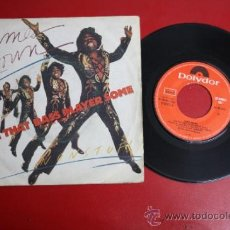 Discos de vinilo: SINGLE DE JAMES BROWN: GIVE THAT BASS PLAYER SOME. ED. POLYDOR 1981. REF_13. Lote 32911010