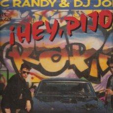 Discos de vinilo: MC RANDY. Lote 32913181