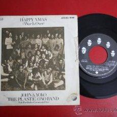 Discos de vinilo: SINGLE DE JOHN & YOKO, THE PLASTIC ONO BAND: HAPPY XMAS, ED. APPLE RECORDS 1972 - REF_39. Lote 32921693