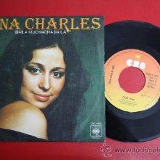 Discos de vinilo: SINGLE DE TINA CHARLES - POR QUE/ BAILA MUCHACHA BAILA, ED. CBS 1976 - REF_52. Lote 32922909
