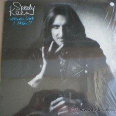 Discos de vinilo: SPEEDY KEEN - Y KNOW WOT I MEAN - LP ORIGINAL USA ISLAND 1975 // COMO NUEVO // THUNDERCLAP NEWMAN. Lote 32944010