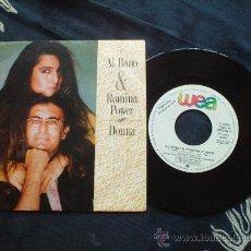 Discos de vinilo: PROMO - AL BANO Y ROMINA POWER - DONNA - NESSUM DORMA - PROMO 5X4*. Lote 32944279