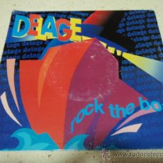 Discos de vinilo: DELAGE ( ROCK THE BOAT - I WANNA BE YOUR EVERYTHING ) 1990 - GERMANY SINGLE45 POLYDOR. Lote 32947585