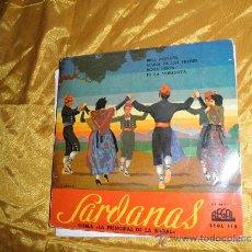 Discos de vinilo: SARDANAS.COBLA LA PRINCIPAL DE LA BISBAL. EP. BELL PENEDES. REGAL. Lote 32947960