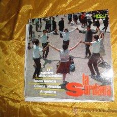 Discos de vinilo: LA SARDANA. COBLA BARCELONA. EP. EL SALTIRO DE LA CARDINA. EKIPO 1967. Lote 32948008