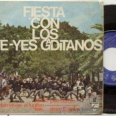 Discos de vinilo: EP 45 RPM / YE YES GADITANOS / CUMBIA YE YE // EDITADO PHILIPS. Lote 116077507
