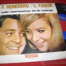 Discos de vinilo: FRANCISCO HEREDERO & LUISITA TENOR SOLO / MARIONETAS EN LA CUERDA 7