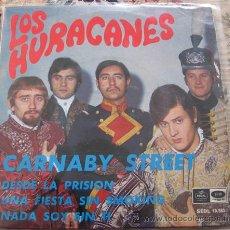 Discos de vinilo: LOS HURACANES - CARNABY STREET - EP DE 1967. Lote 32960544