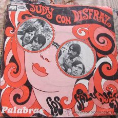 Discos de vinilo: LOS SALVAJES - JUDY CON DISFRAZ - SINGLE 1968. Lote 32960546