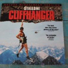 Discos de vinilo: ANTIGUO DISCO DE VINILO LP- STALLONE - CLIFFHANGER - DISCO LASER - LASER DISC - AÑO 1993 - DES. Lote 32961332