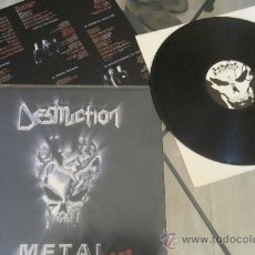 Discos de vinilo: DESTRUCTION METAL DISCHARGE LP KREATOR SODOM SLAYER.... Lote 135754185