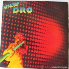 Discos de vinilo: AVIADOR DRO - AMOR INDUSTRIAL - MAXISINGLE 1983. Lote 32965272