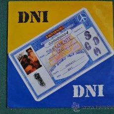 Discos de vinilo: DNI - SIMPLEMENTE DNI. Lote 136601038