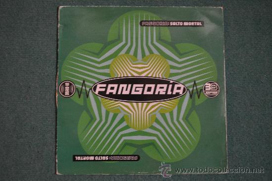 FANGORIA - SALTO MORTAL (Música - Discos - LP Vinilo - Grupos Españoles de los 70 y 80)