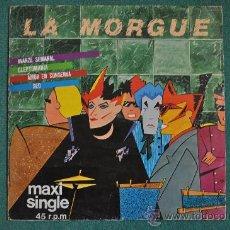 Discos de vinilo: LA MORGUE - AVANZE SEMANAL - 45 RPM. Lote 32983186