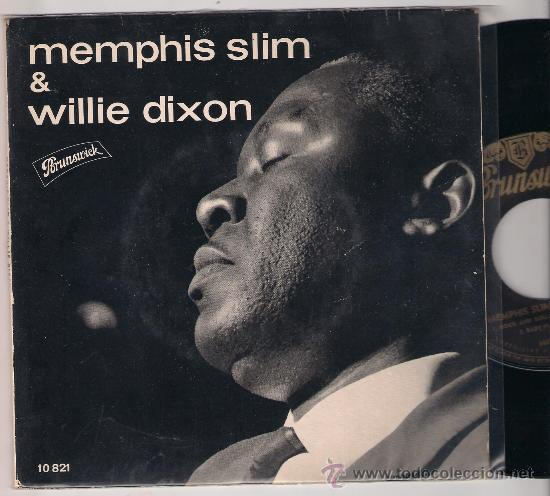 EP MEMPHIS SLIM & WILLIE DIXON: I´M NERVOUS + AFRICAN HUNCH WITH A BOOGIE BEAT +2 (Música - Discos de Vinilo - EPs - Jazz, Jazz-Rock, Blues y R&B)