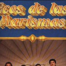 Discos de vinilo: ECOS DE LAS MARISMAS - QUÉDATE (SEVILLANAS). Lote 32990073